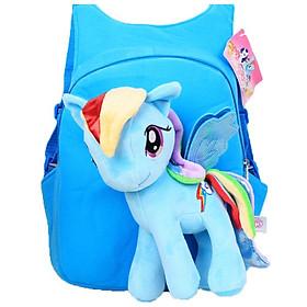 Balo Pony đựng đồ cho mẹ và bé - xanh