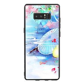 Hình đại diện sản phẩm Ốp lưng viền TPU cho điện thoại Samsung Galaxy Note 8 - Diên Hi Công Lược Mẫu 7
