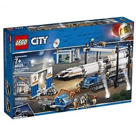 Lắp Ráp Và Vận Chuyển Tên Lửa LEGO CITY 60229