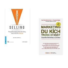 Combo 2 cuốn sách: Inbound  Selling - Thay Đổi Phương Thức Bán Hàng Theo Mô Hình Inbound + Marketing Du Kích Trong 30 Ngày