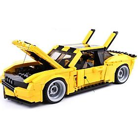 Bộ Đồ Chơi Lắp Ghép Robot Biến Hình Siêu Xe Transformers Cực Khủng 8711
