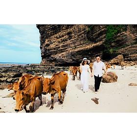 Chụp ảnh cưới tại Hồng Linh Studio-Voucher gói chụp ảnh cưới tại LÝ SƠN (SPINEL BLACK)