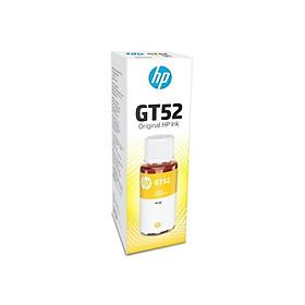 Mực in Phun HP GT52 Yellow Original Ink Bottle Vàng ( Máy in HP DeskJet GT 5810 All-in-One/5820/5811/5821/HP Ink Tank Wireless 415 All-in-One/418/419/319/410 HP Ink Tank 315 All-in-One/318/310/M0H56AA) - Hàng Chính Hãng