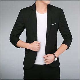 Áo khoác nam giả Vest Cotton dáng slim vừa vặn trẻ trung chất đẹp