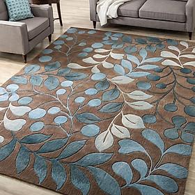 Modern Style Printing Carpet Mat for Living Room Tea Table Bedside Decoration