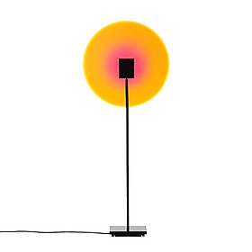 LED Sunset Projector Home Night Light Floor Lamp Wall Decorations Light Photography Live Broadcast Background Lamp