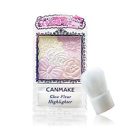 CANMAKE Ida Petal Carving Five-color Blush High-gloss Powder Three-dimensional Repairing Lasting Rouge Japan Import 02 Pink Pearl