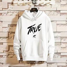 Áo Hoodie Nỉ Bông Unisex Streetwear True ( unisex nam nữ đều mặc được)