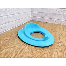 Nắp thu nhỏ bồn cầu cho bé dễ thương/Bệ ngồi toilet, bệ ngồi bồn cầu kèm mẩu chuyện Ehon Maru: Maru đi vệ sinh