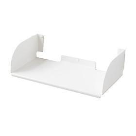 Kệ sách treo tường đơn giản chữ D45 - Đen