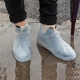 Bọc Giày Đi Mưa Silicone Siêu Bền - Bảo Vệ Giày Trắng Khỏi Bùn Đất