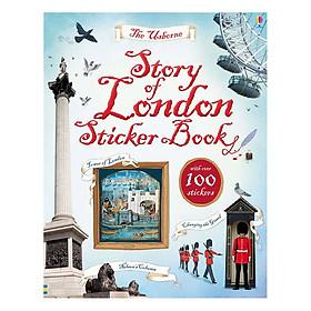 Usborne Story of London Sticker Book
