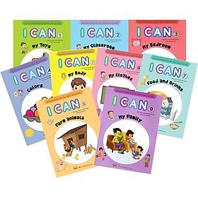 Hướng Dẫn Học Tiếng Anh Cho Trẻ - I Can (Bộ 9 Cuốn)
