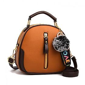 Túi đeo chéo Túi xách nữ tặng quả bông công sở, đi chơi thanh lịch phong cách Hàn Quốc TN191192193
