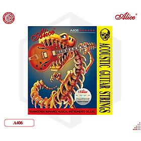 Dây đàn Acoustic Guitar Strings Alice A406 - Hàng chính hãng