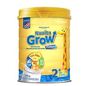 Sữa Nuvita Grow Diamond 2+ 900g (trẻ từ 2 tuổi trở lên)