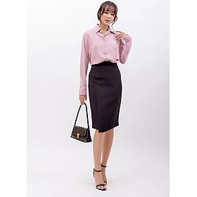 Áo sơ mi thời trang Eden tay dài, Chất liệu mềm mại, thoáng mát. Kiểu dáng đơn giản để phối trang phục - ASM083