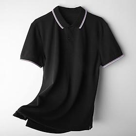 Áo phông nam ngắn tay cổ bẻ dáng slimfit, chuẩn thiết kế hàn quốc, cực tôn dáng, lịch sự, trẻ trung(APKV)