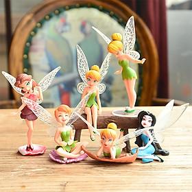 Mô Hình 06 Nàng Tiên Tinker Bell Duyên Dáng