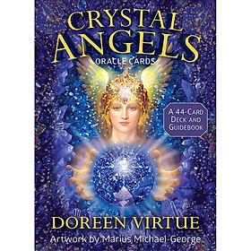 Bộ Bài Bói Tarot Crystal Angels Oracle Card Deck Cao Cấp Đẹp