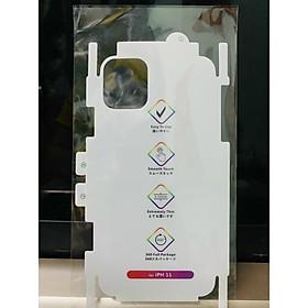 Miếng Dán PPF Cầu Vồng Tự Phục Hồi Mặt Sau cho iPhone X/ XS/ XS Max/ 11/ 11 Pro/ 11 Pro Max/ 12 Mini/ 12/ 12 Pro/ 12 Pro Max - Hàng Chính Hãng