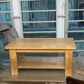 bàn osin 2 tầng gỗ cao su