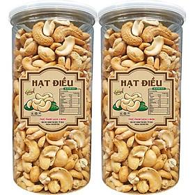 1Kg hạt điều loại sạch vỏ rang muối cao cấp chứa nhiều dưỡng chất bổ dưỡng tốt cho sức khỏe