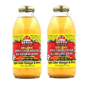 Biểu đồ lịch sử biến động giá bán Giấm táo mật ong hữu cơ Bragg 473ml (2 chai)