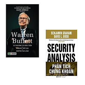 Combo Warren Buffett: 22 Thương Vụ Đầu Tiên Và Bài Học Đắt Giá Từ Những Sai Lầm + Phân Tích Chứng Khoán