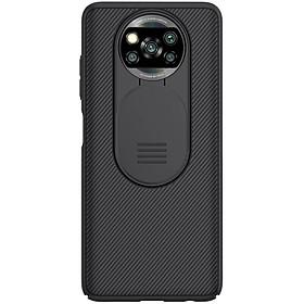Ốp lưng cho Xiaomi Pocophone X3 NFC (Poco X3 NFC) - bảo vệ camera Nillkin CamShield hàng nhập khẩu