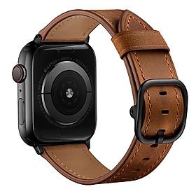Dây Da Bò Paris Leather dành cho Apple Watch Size 38mm / 40mm / 42mm / 44mm
