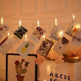 Dây Đèn LED Kẹp Ảnh Trang Trí Lễ Tết, Sinh Nhật, Nhà Cửa - Nhiều Kích Cỡ