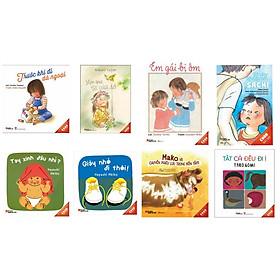 Mỗi ngày một cuốn sách  - bộ ehon Nhật Bản  8 cuốn  cho trẻ : Trước khi đi dã ngoại +_Món quà từ cửa sổ + Em gái bị ốm + Bàn tay kỳ diệu của Sachi + Tay xinh đâu nhỉ +  Giày  đi thôi + Mako và chuyến phiêu lưu trong bồn tắm + Tất cả đều đi ị