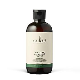 Nước tẩy trang Sukin Micellar Cleansing Water 250ml