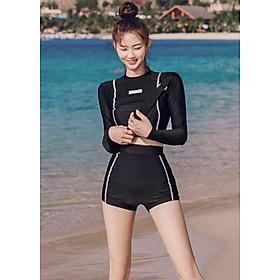 Áo Tắm Tay Dài Quần Bơi Lưng Cao ATI58 MayHomes, Kiểu Dáng Thể Thao, Chất Liệu Bền Đẹp