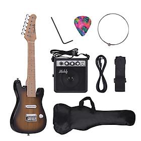 Túi Đeo Guitar Điện Cho Bé Muslady Kèm Ampli Mini (28 Inch)