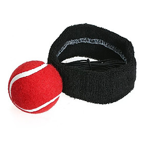 Boxing Reflex Ball Fight Ball with Adjustable Headband for Reflex Speed Training Boxing Punch Exercise Training to Improve Reactio