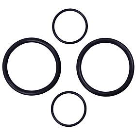 4x Gasket Solenoid O-Rings : 11367506178 11367546379 for