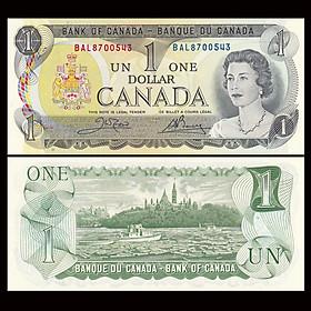 Tiền Canada 1 dollar Nữ hoàng Elizabeth II