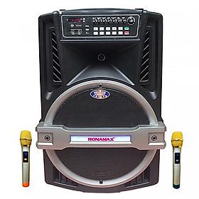Loa kẹo kéo karaoke bluetooth Ronamax K18 - Hàng chính hãng