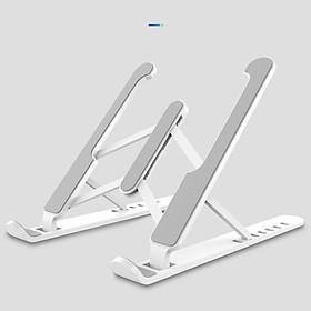 Giá đỡ laptop ABS có thể gấp gọn dành cho Macbook Ipad Surface và máy tính xách tay ( Giao màu ngẫu nhiên )