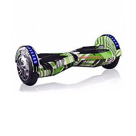 Xe điện cân bằng Homesheel X8 Plus 9(Màu xanh lá cây) – Phiên bản 2020 – Hàng chính hãng