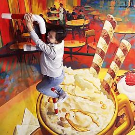 Vé Bảo Tàng Tranh 3D Alive + Mê Cung Dynamic Maze