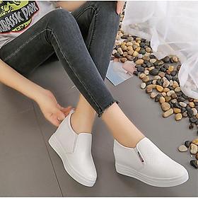 Giày Sneaker nữ Độn Đế 6cm Mã H24
