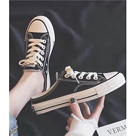 Giày thể thao buộc dây hở gót C06