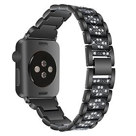 Dây Đeo Đồng Hồ Bằng Thép Không Gỉ Cho Apple Watch Band 42mm 38mm 40mm 44mm Và Apple Watch 1 2 3 4