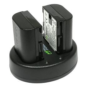 Bộ Pin Pạc Wasabi LP-E6 Dùng Cho Canon 60D, 70D, 77D, 80D, 6D, 7D, 7D Mark II, 5D Mark II, 5D Mark III, 5D IV, 5DS, 5DSR - Hàng Chính Hãng
