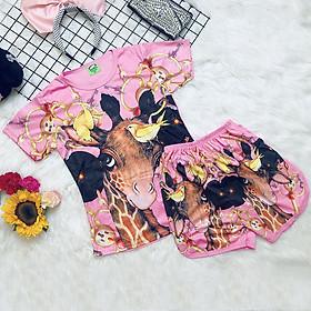 Set đồ bộ quần áo trẻ em in hình chú Cún 3D siêu dễ thương - Độ tuổi 1 - 10 - AKN001
