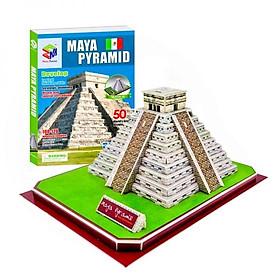 Mô Hình Giấy 3D Magic Puzzle: Kim Tự Tháp Của Người Maya G268-32