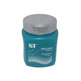 Dầu hấp xanh LK chiết xuất trái Bơ 1000ml ( Avocado Blue Repair Hair Treatmen 1000ml )